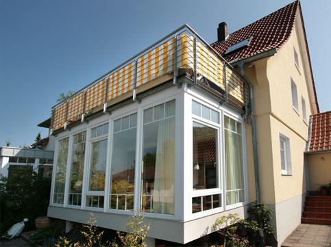 wintergarten auf balkon bilder kreative ideen f r. Black Bedroom Furniture Sets. Home Design Ideas